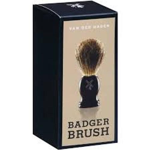 Van Der Hagen Natural Shave Brush, Badger Brush, Colors May Vary, 1 Ea