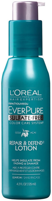 L'Oreal Paris Hair Expertise EverPure Sulfate-Free Repair & Defend Lotion, 4.2 oz, 1 Ea