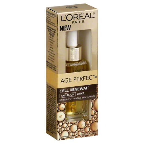 L'Oreal Age Perfect Cell Renewal Facial Oil, Light, 1 Oz, 1 Ea