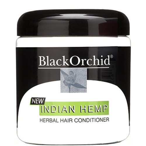 Black Orchid Indian Hemp Herbal Hair Conditioner, 7 Oz, 1  Ea