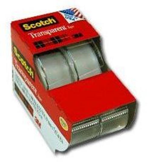 "Scotch Tape, 3/4"" X 300"", 8.33 Yd, 2 ct, 1 Ea"