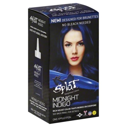 Splat Semi-Permanent Hair Color Kit, Midnight Indigo, 1 Ea ...