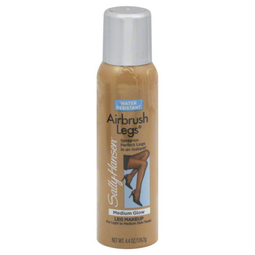 Sally Hansen Airbrush Legs Spray-On Leg Makeup, Medium Glow, 4.4 OZ