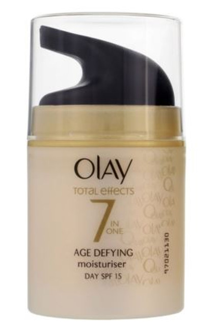 Olay Total Effects 7-In-1 Age Defying Moisturizer with SPF 15, UNBOXED, 50 gr