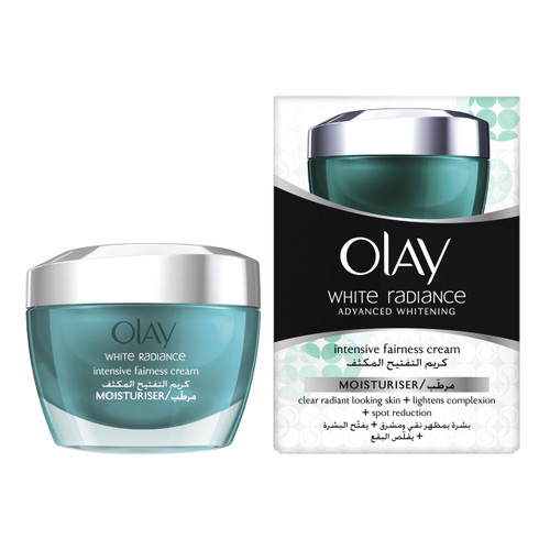 Olay White Radiance Intensive Fairness Cream, Moisturizer, 1.7 Oz