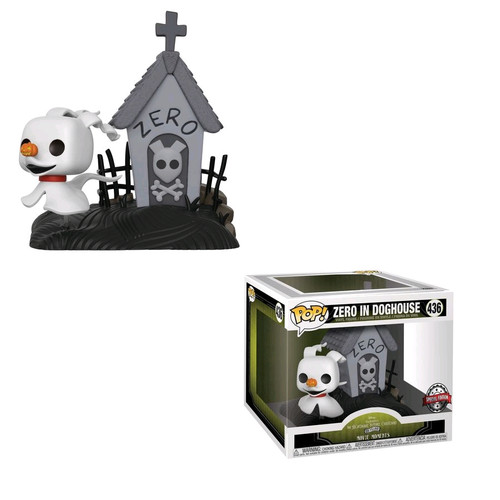 The Nightmare Before Christmas - Zero in doghouse Movie Moment Pop! Vinyl [RS]-FUN31819