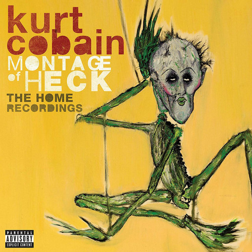 KURT COBAIN-MONTAGE OF HECK- Double Vinyl LP-Brand New-Still Sealed