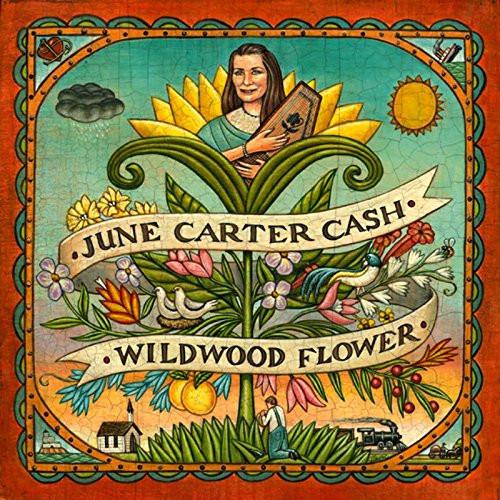 JUNE CARTER CASH-WILDWOOD FLOWER- Vinyl LP-Brand New-Still Sealed