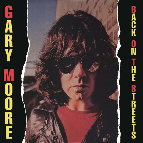 GARY MOORE-BACK ON THE STREETS- Vinyl LP-Brand New-Still Sealed