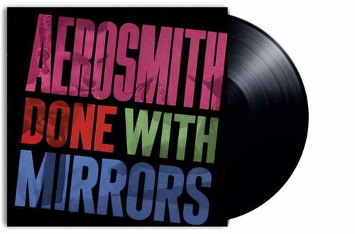 AEROSMITH-DONE WITH MIRRORS- Vinyl LP-Brand New-Still Sealed