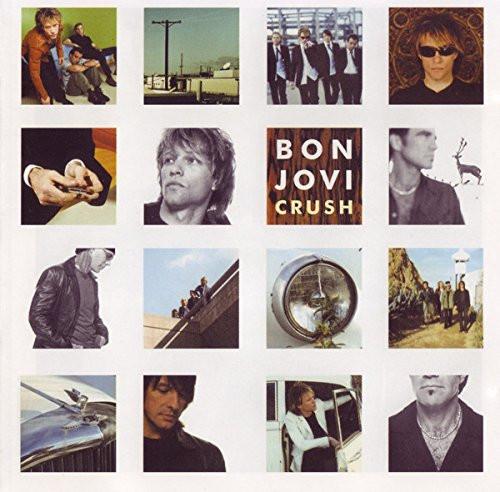 BON JOVI-CRUSH- Double Vinyl LP-Brand New-Still Sealed