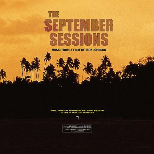 JACK JOHNSON-OST - THE SEPTEMBER SESSIONS- Vinyl LP-Brand New-Still Sealed