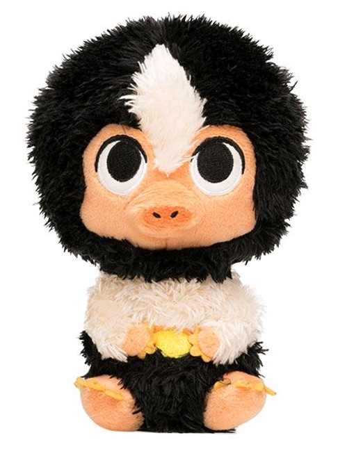 Fantastic Beasts 2: The Crimes of Grindelwald - Baby Niffler Black & White SuperCute Plush-FUN31908