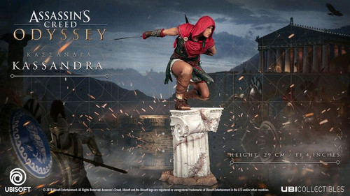 Assassin's Creed: Odyssey - Kassandra Vinyl Statue-UBI300099728