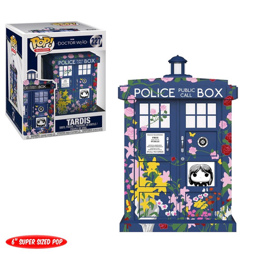 "Doctor Who - TARDIS (Clara Memorial) 6"" Pop! Vinyl-FUN33284"