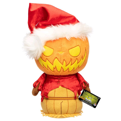 The Nightmare Before Christmas - Santa Jack Pumpkin King SuperCute Plush [RS]-FUN32063