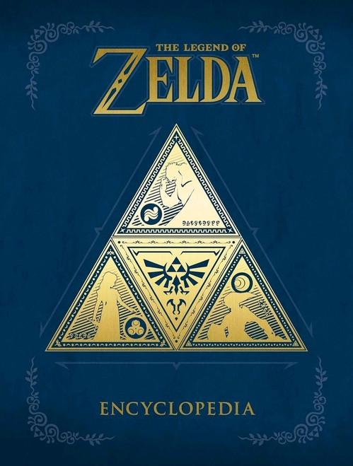 The Legend of Zelda - The Legend of Zelda Encyclopedia Hardcover Book-DHC3000-358