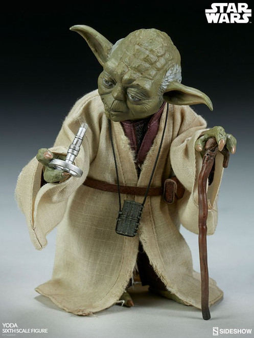 Star Wars - Yoda Episode V The Empire Strikes Back 1:6 Scale Action Figure-SID100407
