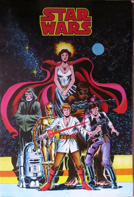 Star Wars-Comic Cover- Poster-Laminated Available-85cm x 55cm-Brand New