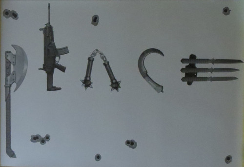 Peace - Weapons - Poster-Laminated available-90cm x 60cm-Brand New