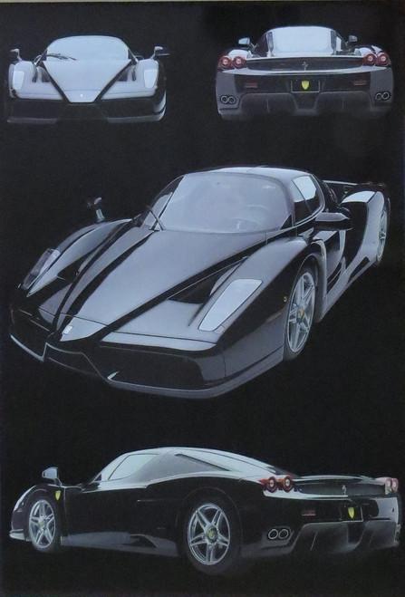 Ferrari Enzo : Enzo-Poster-Laminated available-91cm x 61cm-Brand New