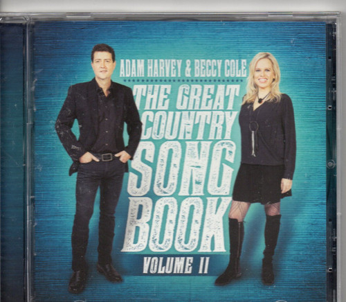 Adam Harvey & Beccy Cole-The Great Country Song Book Volume II CD-Brand New-Still Sealed