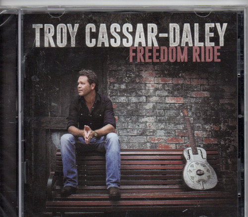 CASSAR-DALEY, TROY-Freedom Ride CD-Brand New-Still Sealed