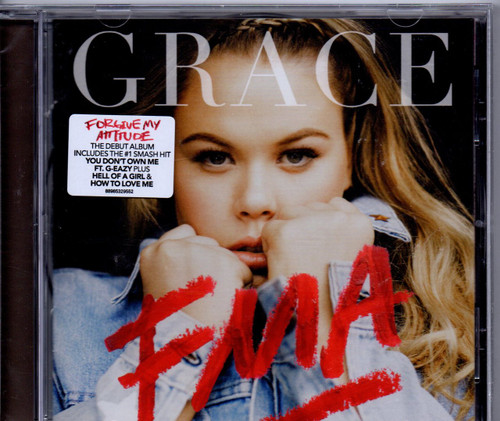 GRACE-FMA-CD-Brand New-Still Sealed