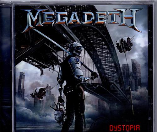 MEGADETH-Dystopia-CD-Brand New-Still Sealed
