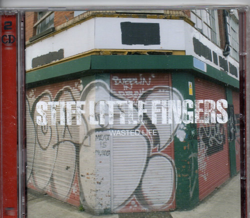 STIFF LITTLE FINGERS-Wasted Life (2 CD set)-Brand New-Still Sealed