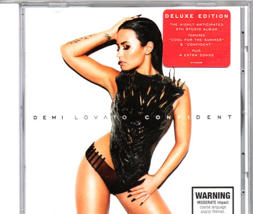 LOVATO, DEMI-Confident (Deluxe Edition 4 Extra Tracks)-CD-Brand New-Still Sealed