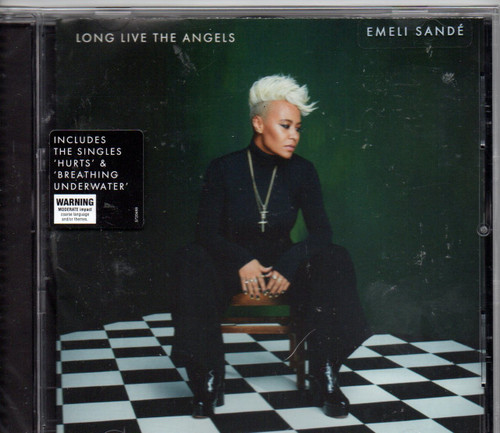 EMELI SANDE-Long Live The Angels CD-Brand New-Still Sealed