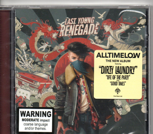 Alltimelow-Last Young Renegade CD-Brand New-Still Sealed