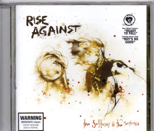 RISE AGAINST-The Sufferer & The Witness CD-Brand New-Still Sealed