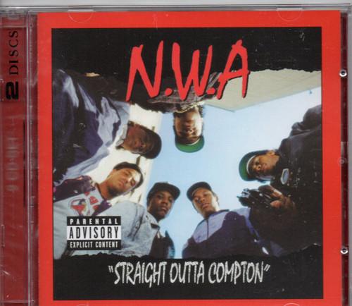 N.W.A.-Efil4ziggin/ traight Outta Compton (2 CD Edition) CD-Brand New-Still Sealed