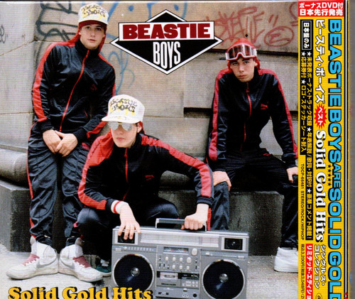 BEASTIE BOYS-Solid Gold Hits-Japanese CD (With Bonus DVD)-TOCP-66481