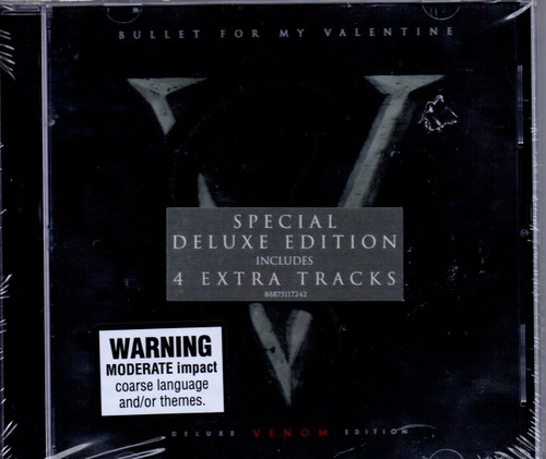 BULLET FOR MY VALENTINE-Venom (Deluxe Edition-4 Bonus Tracks)-CD-Brand New-Still Sealed