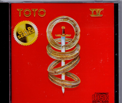 TOTO-Toto IV (Aussie Gold CD Series)-Brand New-Still Sealed