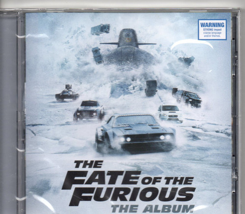 The Fate of the Furious-The Album CD-Brand New-Still Sealed