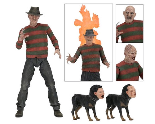 "A Nightmare on Elm Street 2: Freddy's Revenge - Freddy 7"" Ultimate Action Figure-NEC39899"