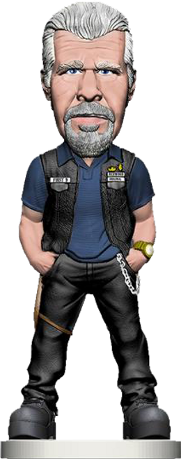 Sons of Anarchy - Clay Bobble Head-MEZ82100
