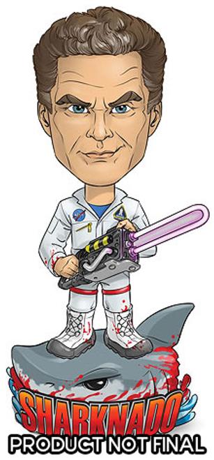 Sharknado 3 - The Hoff vs Sharknado Bobble Head-BEE00174