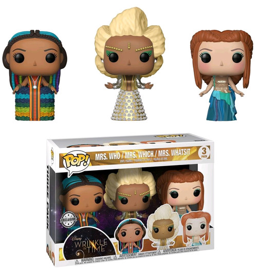 A Wrinkle in Time - Mrs Who, Mrs Which & Mrs Whatsit US Exclusive Pop! Vinyl 3-pack [RS]-FUN22506
