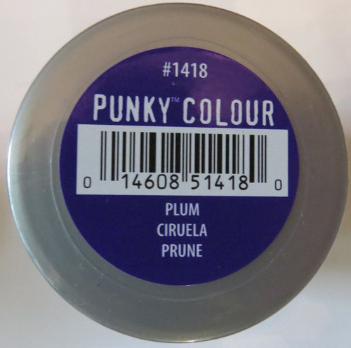 Punky Colour-PLUM-100ml HAIR DYE Jerome Russell- New/Sealed-Punk