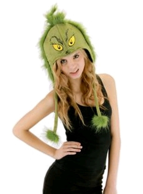 Dr Seuss - The Grinch Hoodie Hat-ELO291260SC