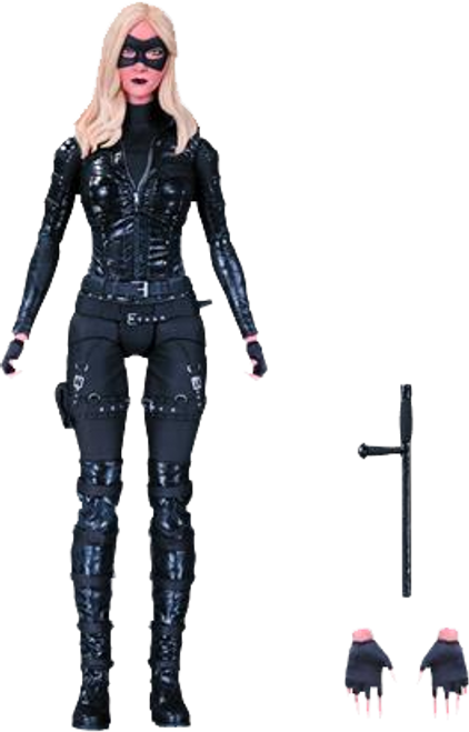 Arrow - Black Canary Laurel Lance Action Figure-DCCSEP150341