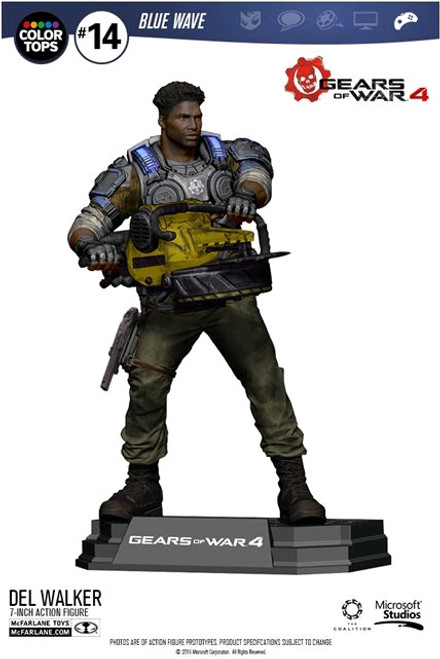 "Gears of War 4 - Del Walker 7"" Action Figure-MCF12008"