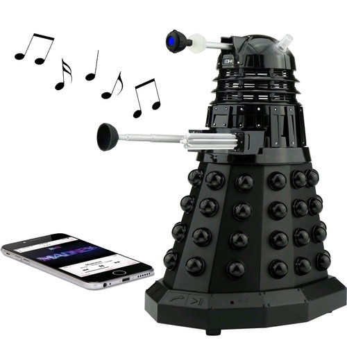 Doctor Who - Dalek Sec Wireless Bluetooth Speaker-MAAMDBLK