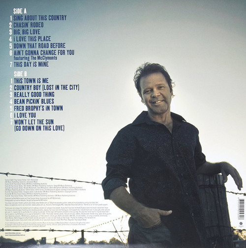 TROY CASSAR-DALEY-I LOVE THIS PLACE- VINYL LP (+ BONUS CD)-Brand New-Still Sealed