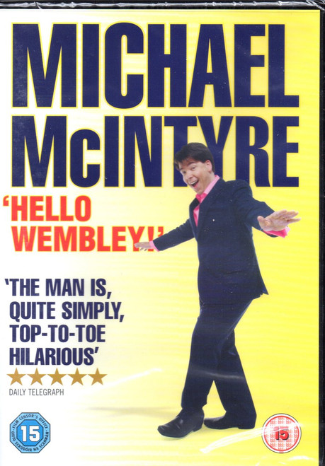 Michael McIntyre-Hello Wembley-DVD-Region 4-Brand New
